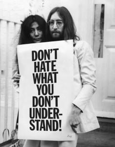 It's not art (Yohn + Yoko)