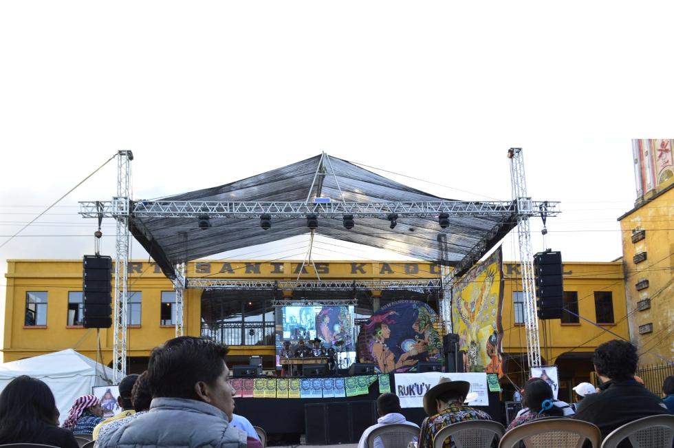 II Festival Pueblos Originarios, Movimiento de Artistas Ri Ak'u'x 2014